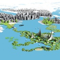 Tervezd meg a saját úszó városod!