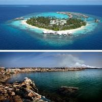 Kemény ár a maldív luxusért