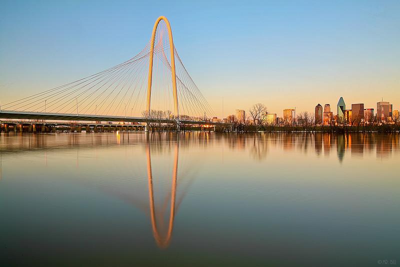 Calatrava hídja Dallasban