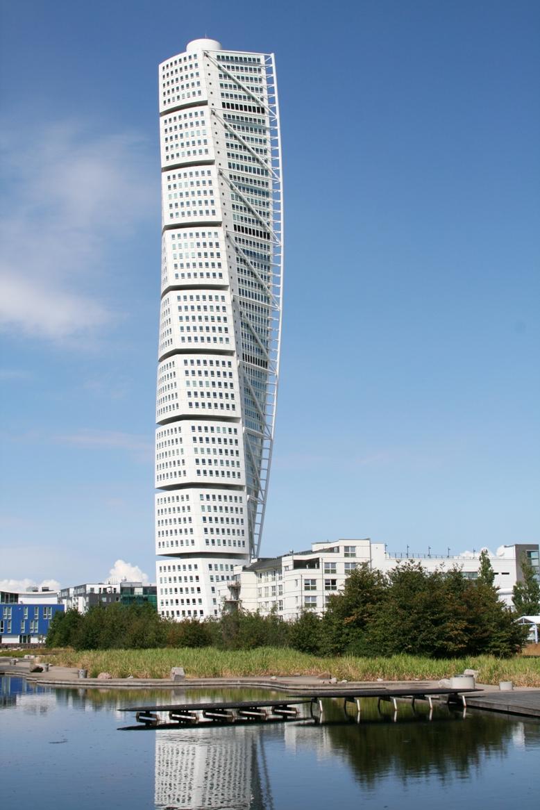 A Turning Torso épülete