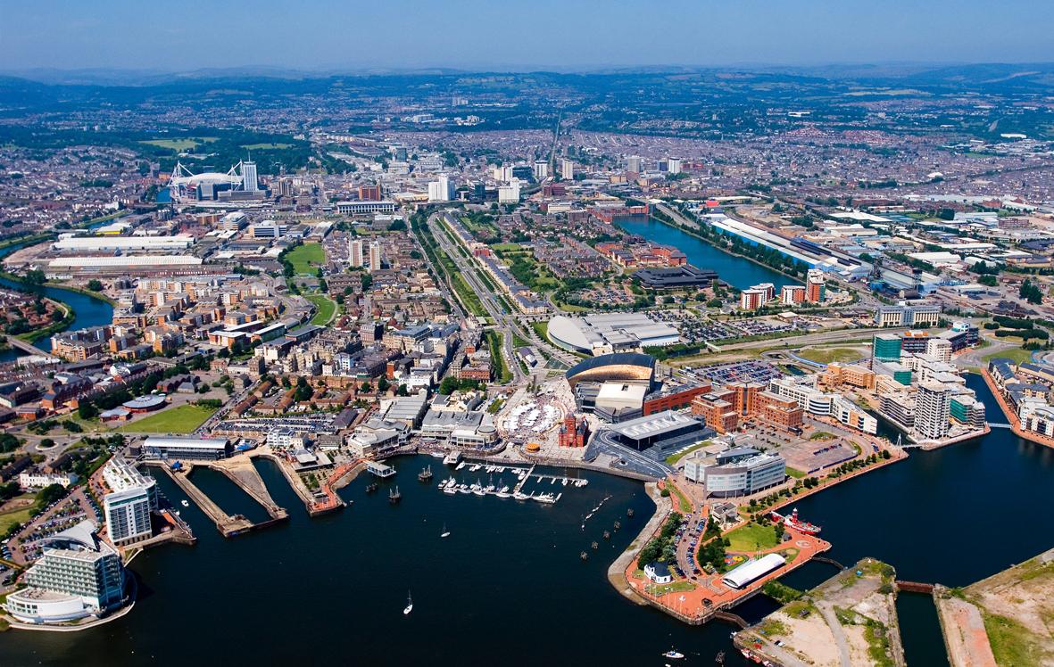 Cardiff kikötője