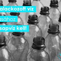 Megdöbbentő tény: 1 liter palackozott vízhez 3 liter csapvizet használnak fel