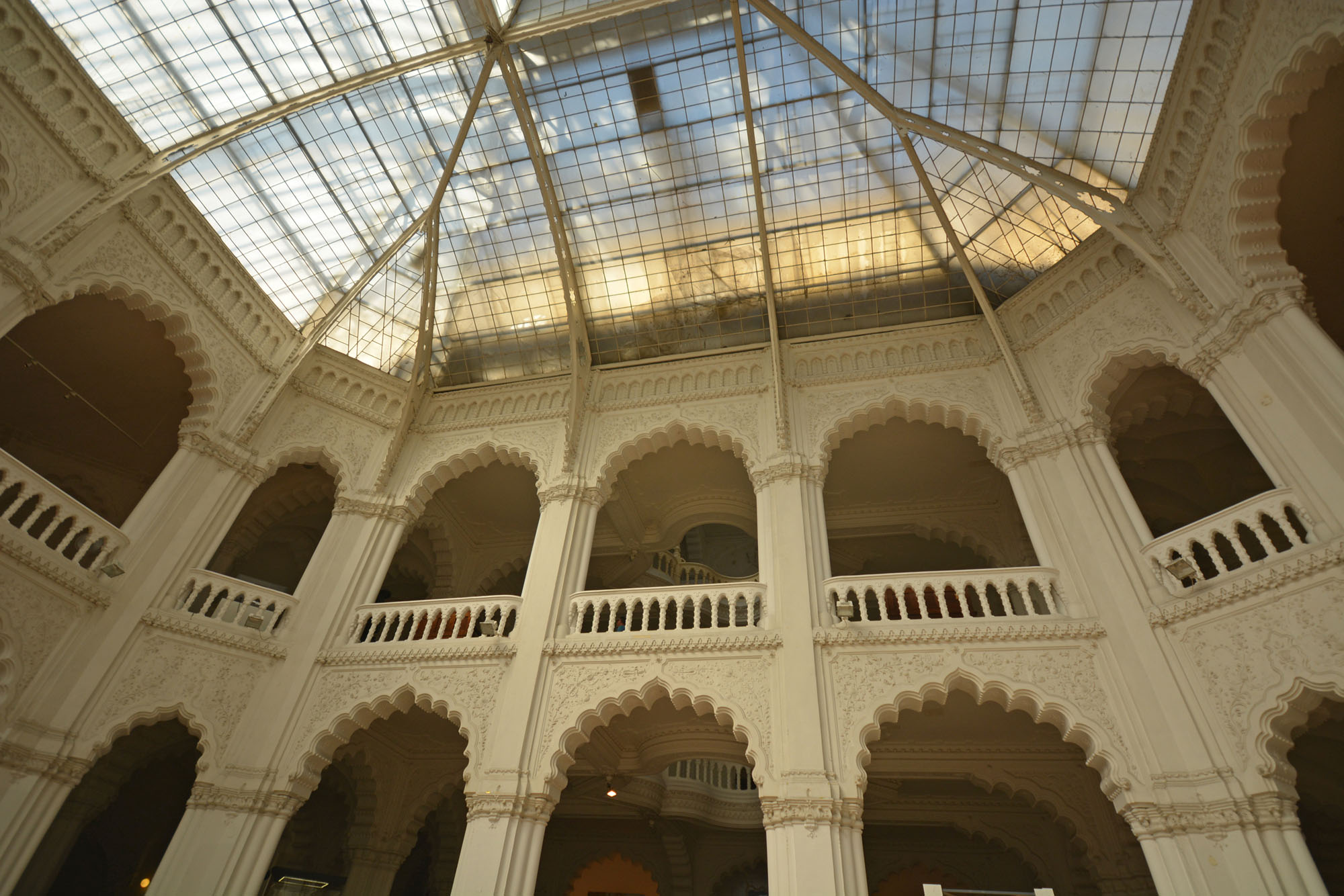 a múzeum belső tere, úgy ahogy mindenki láthatja