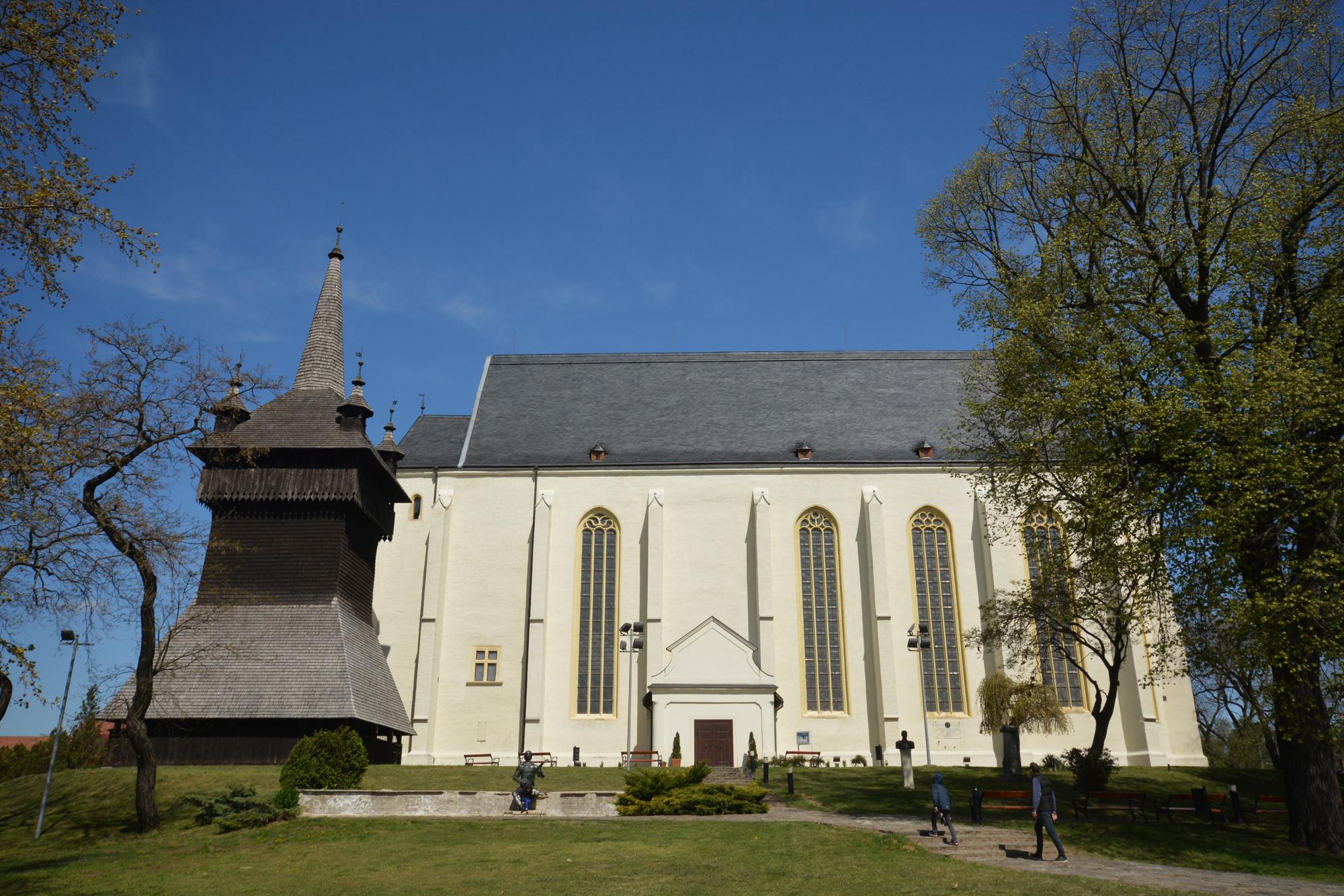 a református templom a harangtoronnyal