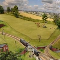 Vasútmodell kiállítás - ahogy a britek csinálják