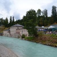 Salzbergwerk: sóbánya a hegyek között