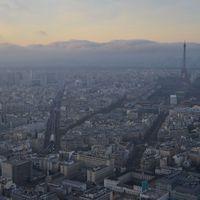 Párizs a Tour Montparnasse tetejéről