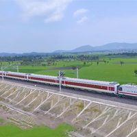 Az első kínai vasútvonal Afrikában