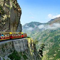 Kisvonattal a hegyekbe: A Petit train d'Artouste