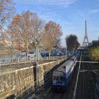 A Gare du Nordtól a Gare du Estig