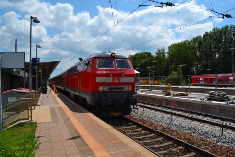 ammerseebahn Geltendorf DB 218