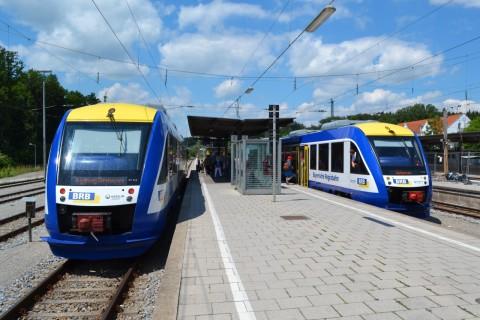 ammerseebahn Alstom Coradia LINT Geltendorf BRB Bayerische Regiobahn