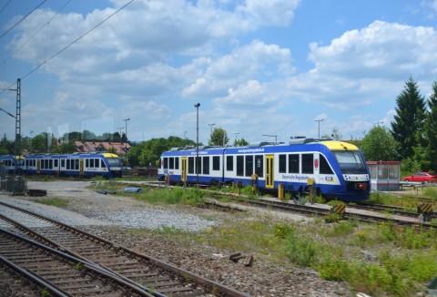 ammerseebahn Weilheim állomás