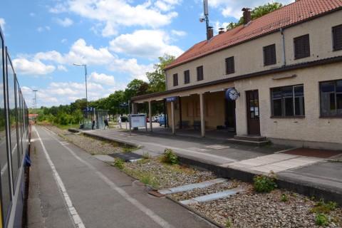 ammerseebahn Peiting állomás