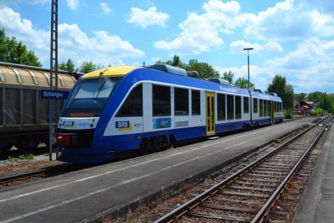 ammerseebahn Schongau állomás Alstom Coradia LINT