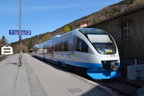 bob BOB VT 720 Bayerische Oberlandbahn tegernsee