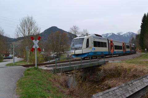 Bayerische Oberlandbahn bob Vt 105 integral