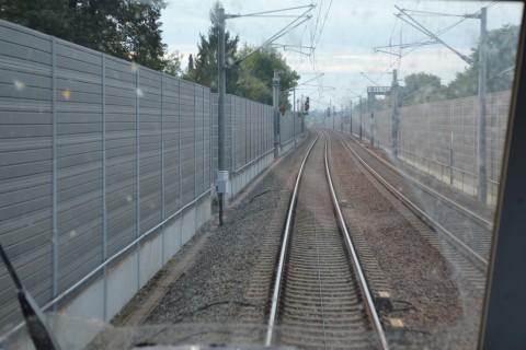 München-Ingolstadt-vasútvonal zajvédő fal
