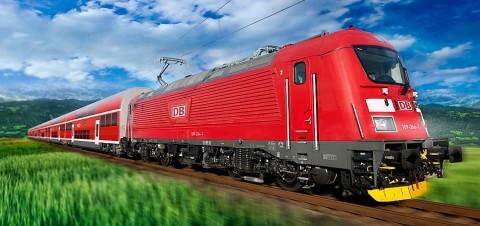München-Nürnberg-expressz db 102 skoda
