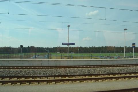 München-Nürnberg-expressz allersberg P+R parkoló