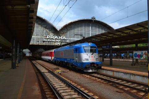 prága főpályaudvar Praha hlavní nádraží ČD 363 sorozat
