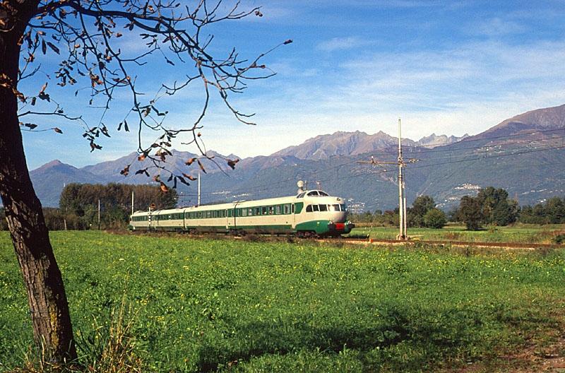 FS ETR 250 sorozat villamos motorvonat olaszország lombardia Valtellina