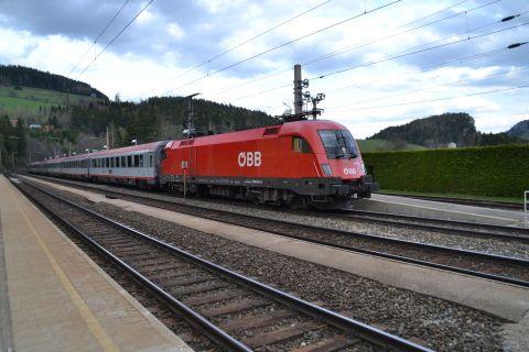 semmeringbahn állomás öbb ec taurus 1116