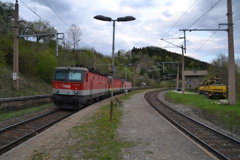 semmeringbahn mozdonyvonat lokzug