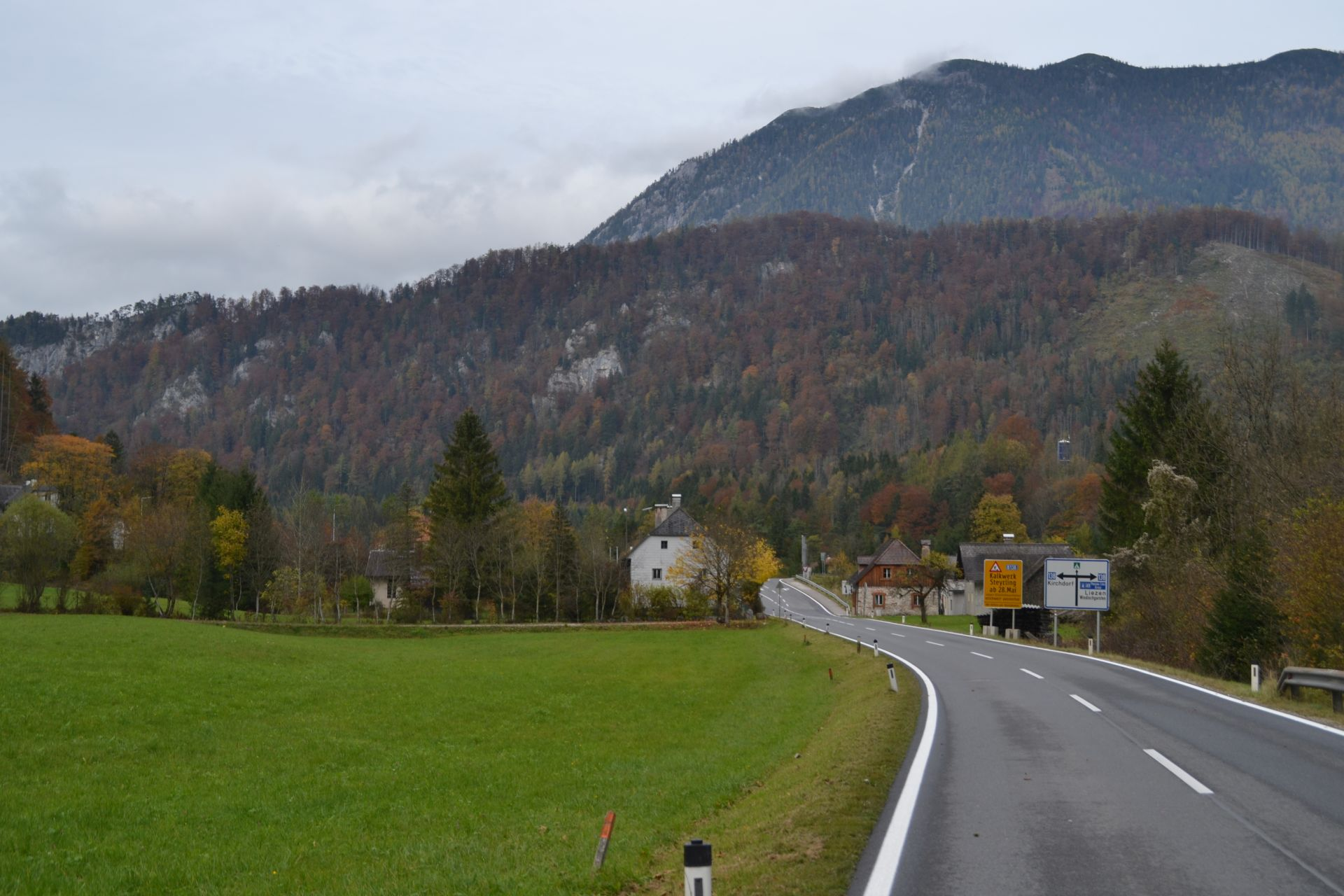 Felső-Ausztria, erdő, hegyvidék, túra, kirándulás, Steyrbrücke, Hinterstoder