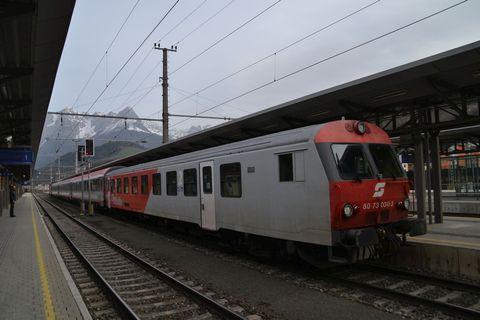 Ausztria, Bischofshofen, Salzburg-Graz InterCity