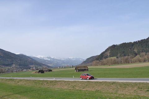 Ausztria, enns folyó völgy, Ennstalbahn