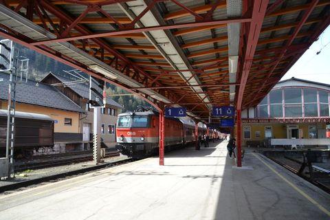 Ausztria, Stájerország, Selzthal állomás