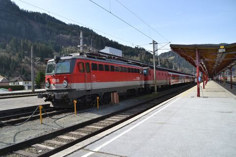 Ausztria, Selzthal állomás,