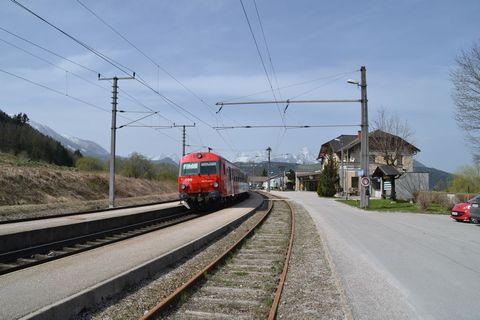 Ausztria, Pyhrnbahn, Windischgarsten