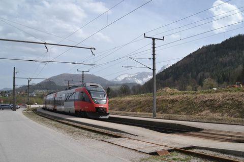 Ausztria, Pyhrnbahn, Windischgarsten, ÖBB Talent