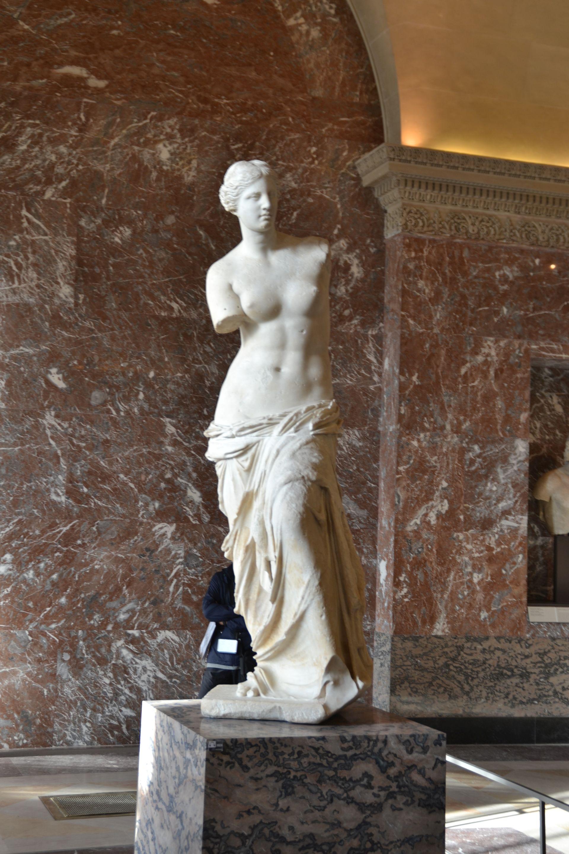 louvre, párizs, múzeum, Méloszi Aphrodité