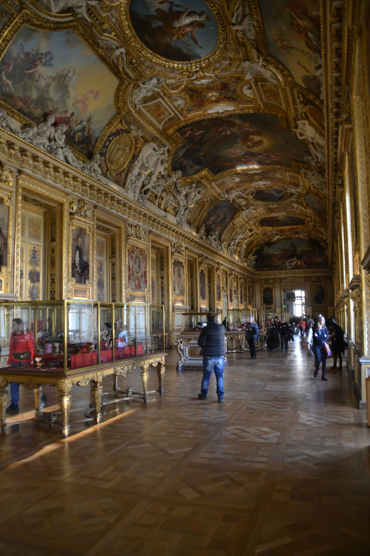 louvre, párizs, múzeum, freskó