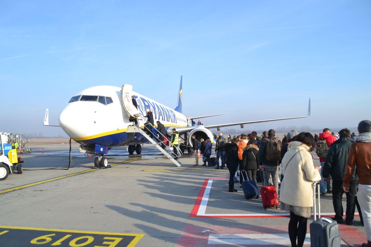 Liszt Ferenc Nemzetközi repülőtér, ryanair