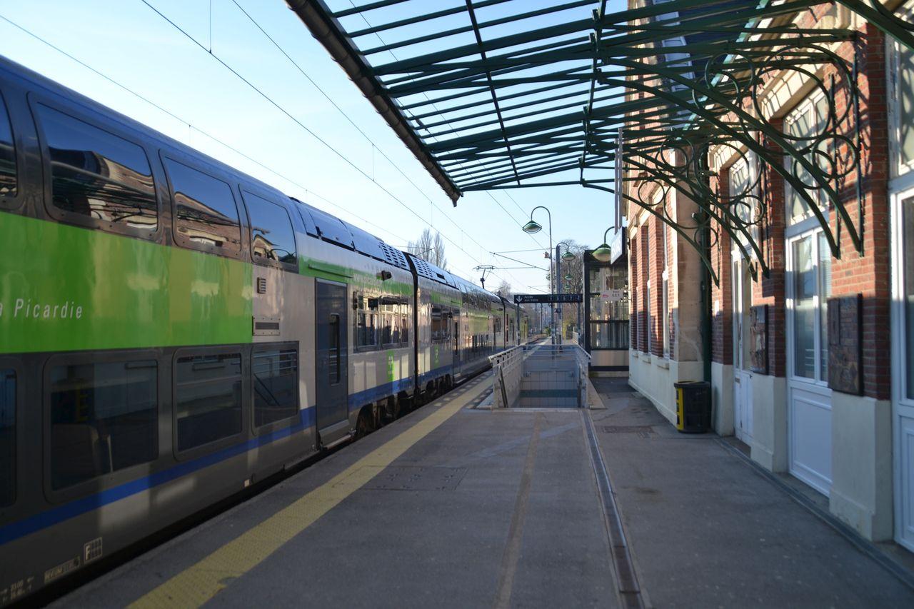 Gare de Beauvais, alstom coradia duplex