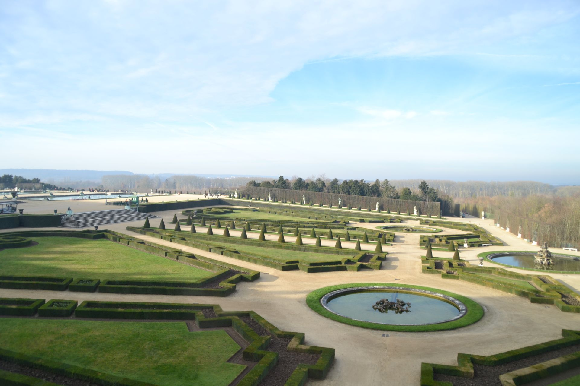 Versailles-i kastély barokk kert