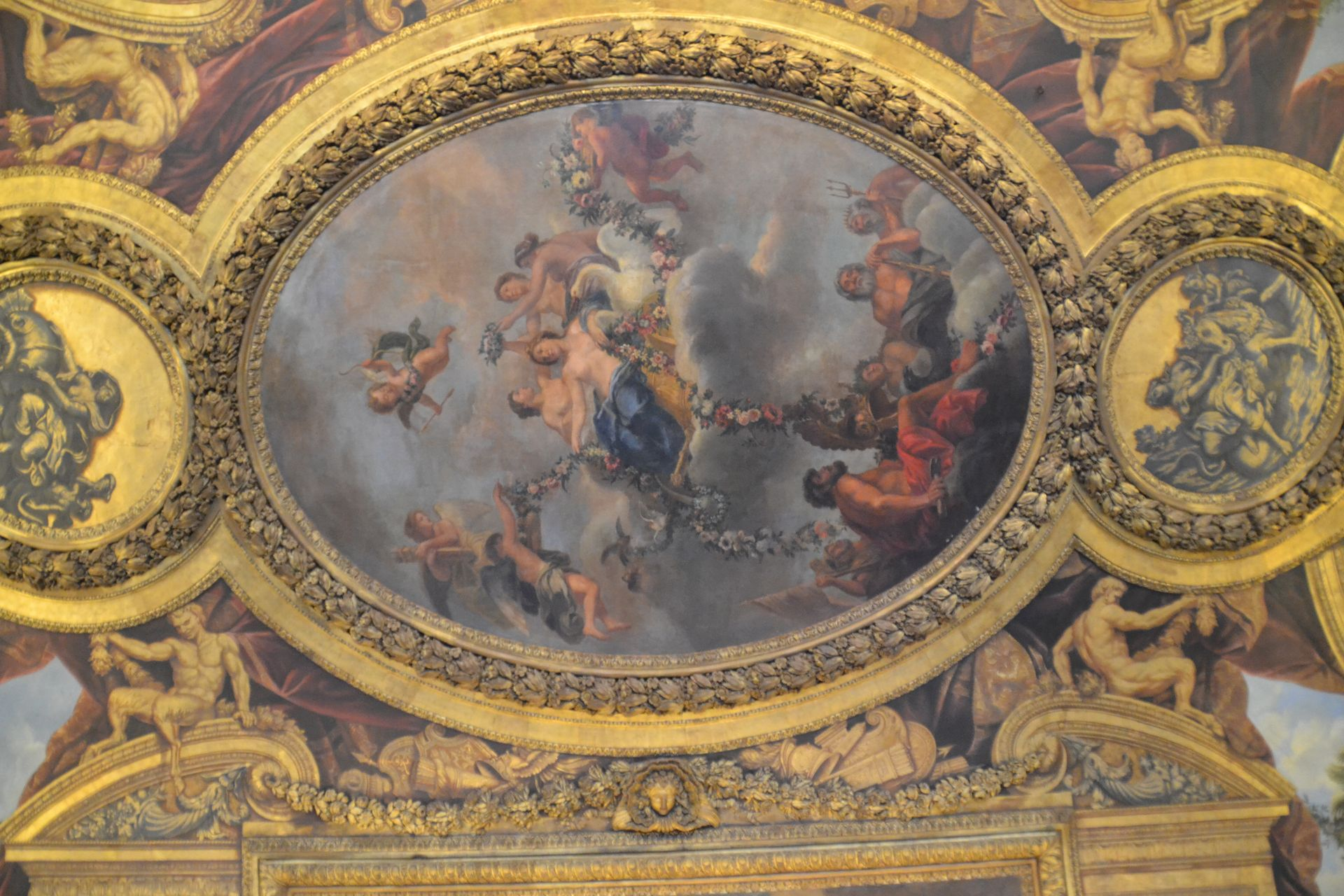 Versailles-i kastély freskó