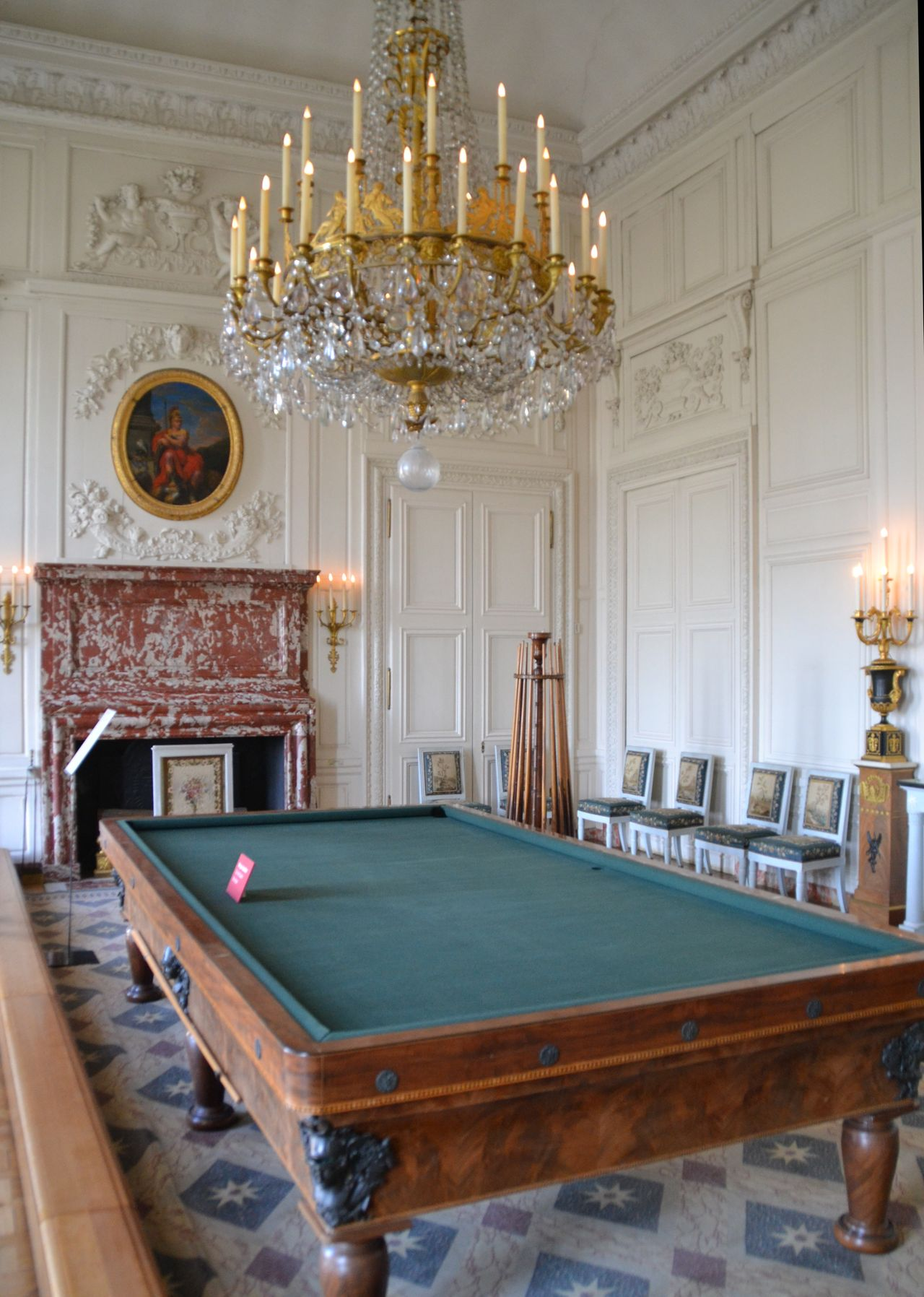 Versailles-i kastély, nagy-trianon, billiárd