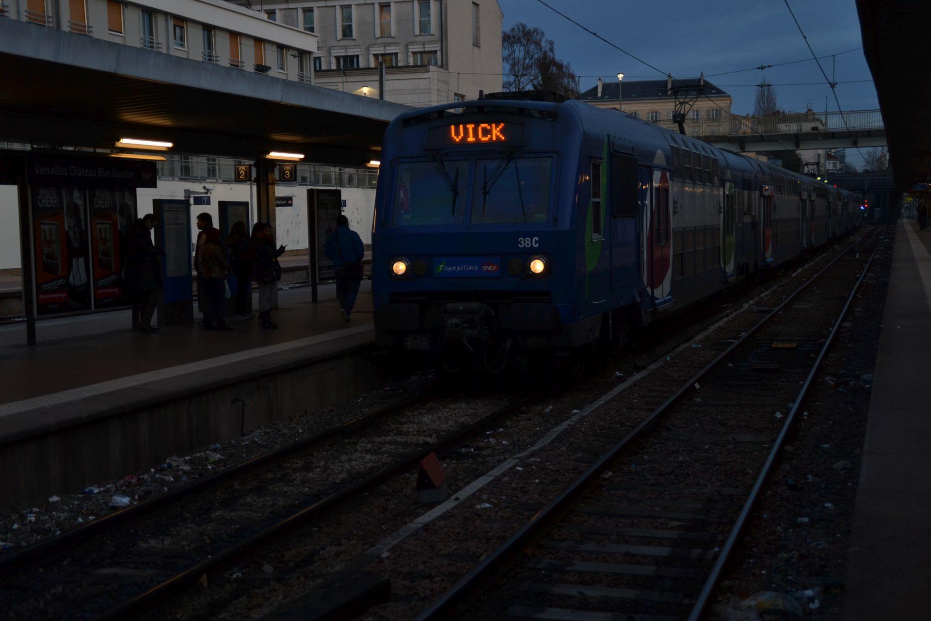 Versailles, Gare de Versailles-Château-Rive-Gauche