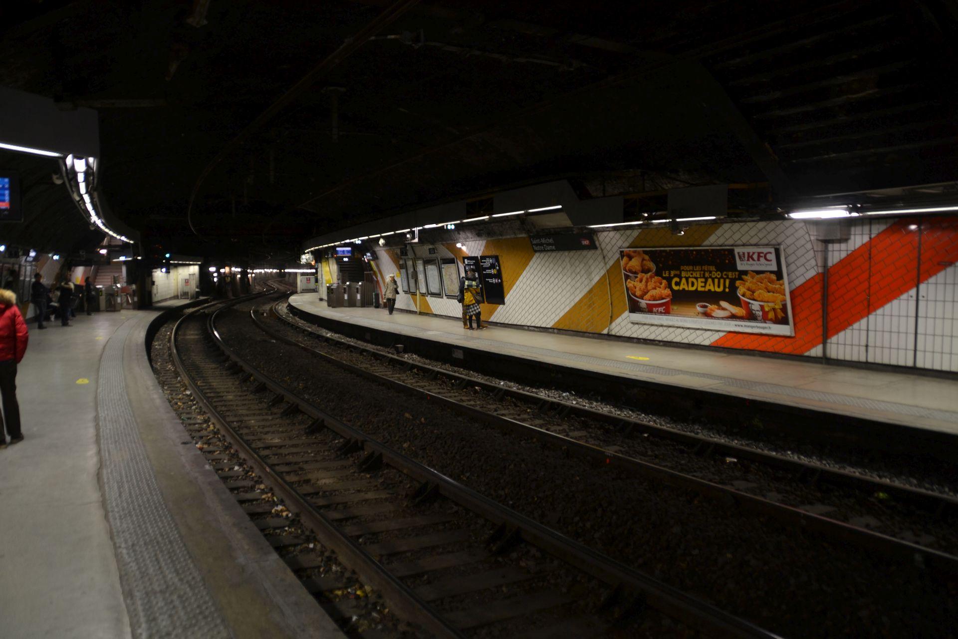 RER állomás, Párizs