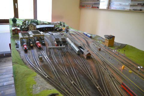 Ausztria, terepasztal, Spital am pyhrn, modelleisenbahn