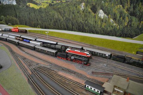 Ausztria, terepasztal, Spital am pyhrnmodelleisenbahn