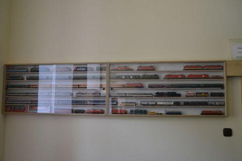 Ausztria, terepasztal, Spital am pyhrn, vitrinmodelleisenbahn