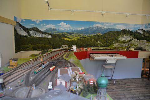 Ausztria, terepasztal, Spital am pyhrn, h0modelleisenbahn