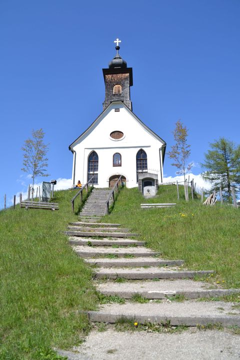 Ausztria, windischgarsten, Kalvarienbergkirche, templom