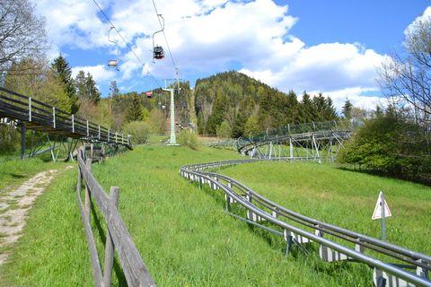 Ausztria, windischgarsten, Alpine Coaster, libegő, nyári bob